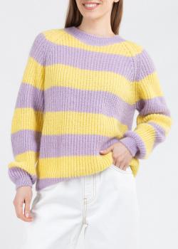 Вязаный свитер Kontatto в крупную полоску, фото