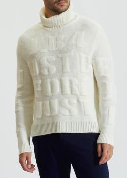 Белый свитер J.B4 Just Before из смесовой шерсти, фото