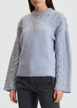 Вязаный свитер Kenzo с широкими рукавами, фото