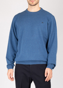 Синий шерстяной джемпер Fynch-Hatton, фото