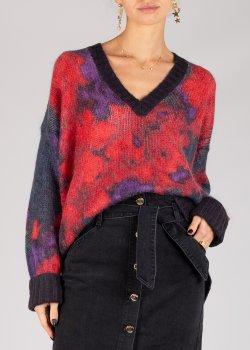 Пуловер Twin-Set с абстрактным узором, фото