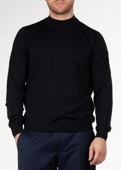 Шерстяной гольф Svevo черного цвета, фото
