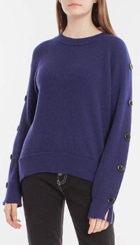 Синий свитер Dorothee Schumacher из мериноса и кашемира, фото