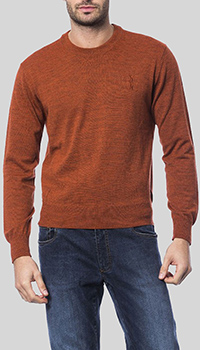 Шерстяной джемпер Billionaire оранжевого цвета, фото
