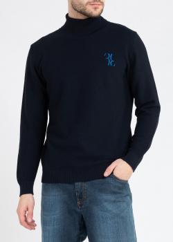 Шерстяной гольф Billionaire темно-синего цвета, фото