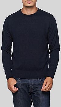 Джемпер Balmain темно-синего цвета, фото