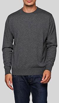 Серый джемпер Balmain из шерсти и кашемира, фото