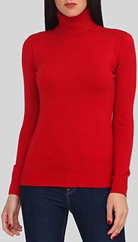Кашемировый гольф Cashmere Company красного цвета, фото