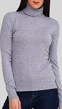 Серый гольф Cashmere Company однотонный, фото