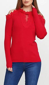 Шерстяной джемпер Cashmere Company с открытыми плечами, фото