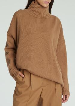 Шерстяной свитер Max Mara Weekend бежевого цвета, фото