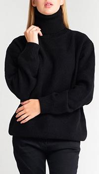 Кашемировый свитер Dolce&Gabbana с высокой горловиной, фото