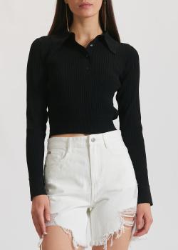 Джемпер-поло Miss Sixty черного цвета, фото