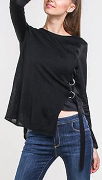 Джемпер Armani Jeans черного цвета, фото