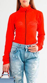 Красный гольф Celine с черной полоской, фото