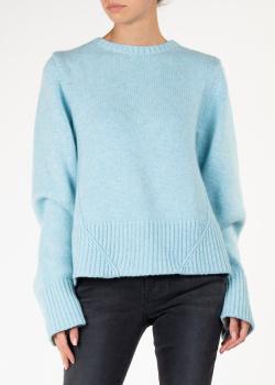 Кашемировый свитер Khaite с разрезом, фото
