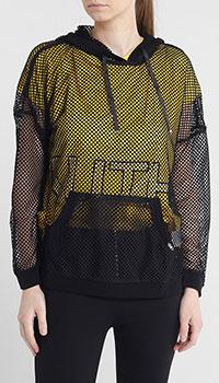 Кофта-сетка Liu Jo накладным карманом, фото