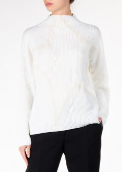 Шерстяной свитер Lorena Antoniazzi с изображением звезды, фото