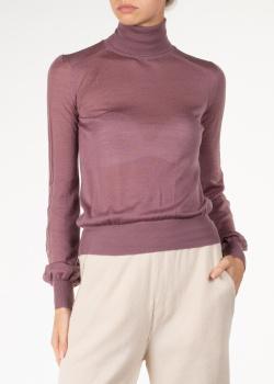 Кашемировый гольф Agnona темно-розового цвета, фото