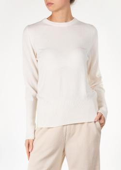 Кашемировый свитер Agnona молочного цвета, фото