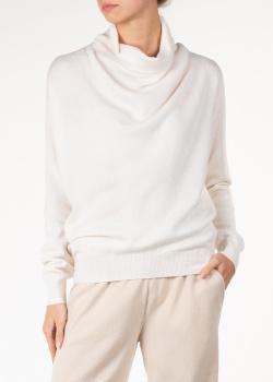 Кашемировый свитер Agnona со складками, фото