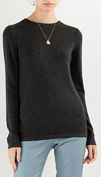 Темно-серый свитер Max&Moi из шелка и кашемира, фото