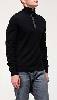 Кофта Bogner черного цвета из шерсти, фото