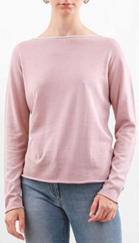 Хлопковый джемпер Fabiana Filippi светло-розового цвета, фото