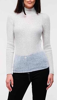 Белый свитер Emporio Armani из шерсти альпаки, фото