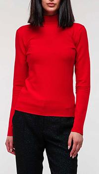 Гольф Emporio Armani красного цвета, фото