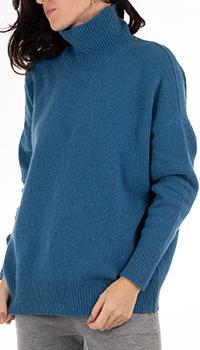 Кашемировый свитер GD Cashmere синего цвета, фото