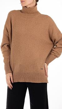 Кашемировый свитер GD Cashmere с воротником под горло, фото
