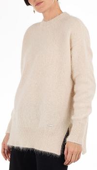 Ангоровый свитер GD Cashmere бежевого цвета, фото