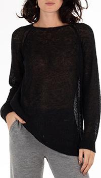 Мохеровый джемпер GD Cashmere черного цвета, фото