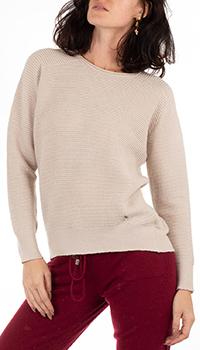 Шерстяной джемпер GD Cashmere бежевого цвета, фото