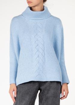 Кашемировый свитер Arch4 с узором-косичкой, фото