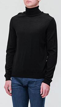 Мужской свитер Hugo Boss черного цвета, фото