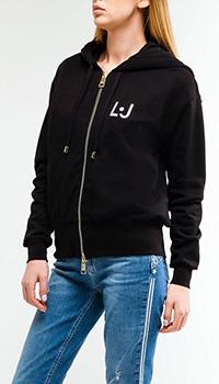 Черная кофта Liu Jo со стразами, фото