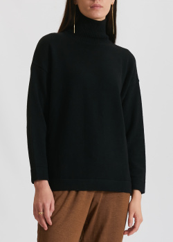 Черный свитер Max Mara Leisure из шерсти, фото