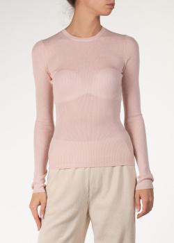 Кашемировый джемпер Michael Kors розового цвета, фото