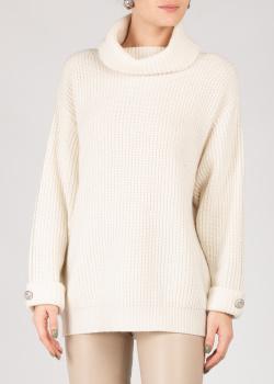 Белый свитер Max&Moi крупной вязки, фото