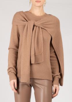 Кашемировый свитер Max&Moi коричневого цвета, фото