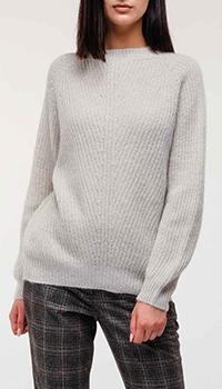 Серый свитер Peserico оверсайз, фото