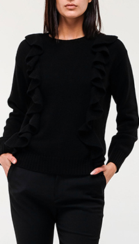 Женский свитер Red Valentino черного цвета, фото