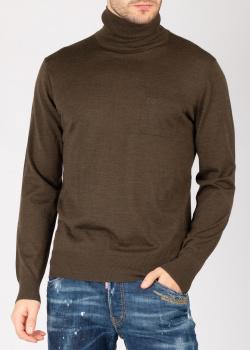 Гольф Dsquared2 из коричневой шерсти, фото