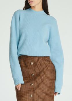 Голубой джемпер Dsquared2 из смесовой шерсти, фото