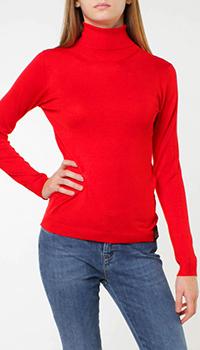 Красный гольф Silvian Heach с манжетами в рубчик, фото