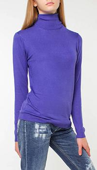Однотонный гольф Silvian Heach фиолетового цвета, фото