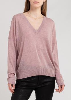 Кашемировый пуловер Zadig & Voltaire из тонкой пряжи, фото