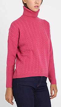 Шерстяной гольф Peserico розового цвета, фото